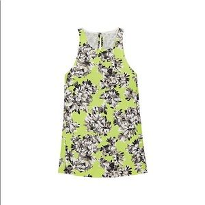 J. Crew Collection Floral Dressy Tank